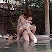 【ゆうき】貸切温泉でヤリまくりな変態カップルの一部始終!野外で青姦プレイ、部屋ではすぐにシックスナインから2ラウンド目に突入しちゃう 女性向け無料アダルト動画
